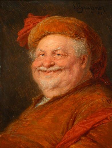 Eduard von Grützner: Falstaff