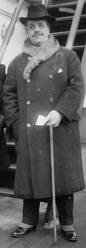 Russian ballet impresario and founder of the Ballets Russes Sergei Diaghilev (1872-1929)